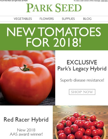 The Best New Tomatoes for 2018!