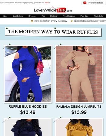 Hi, bf27dcce625f3e3aa0e705e49623b0ee, The Modern Way to Wear Ruffles