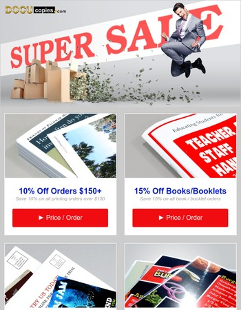 1 Day Left to Save up to 50% Off Printing