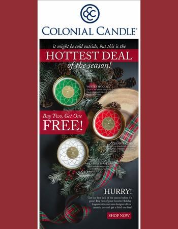 FREE Holiday Sparkle Ceramic!