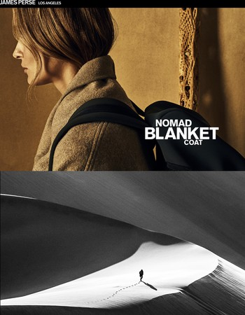 The Nomad Blanket Coat