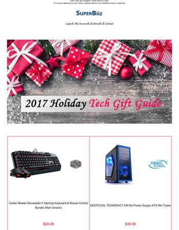 2017 Holiday Gift Guide: Must-Have Tech