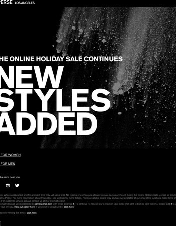 Don't Miss Out: New Sale Styles Added