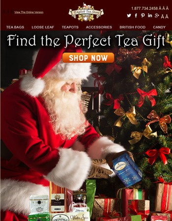 Find the Perfect Tea Gift!