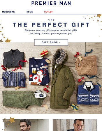 Find the perfect gifts for your loved ones