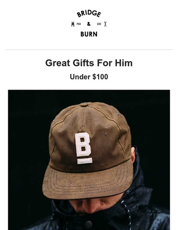 Great Gifts For Guys - All Under $100 | Helm Boots LA Pop Up