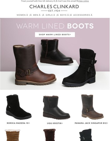 Cosy Warm Lined Boots and Slippers!