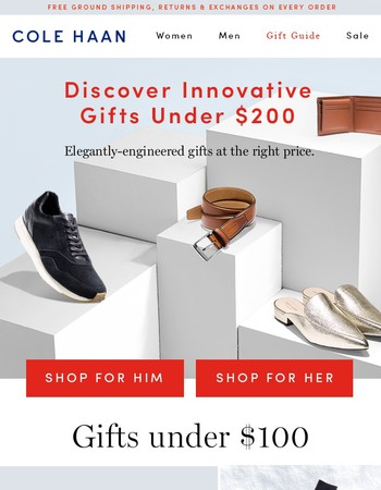 Grand Gifts Under $200