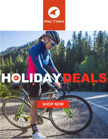 Holiday Cycling Clothing Deals