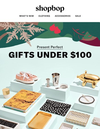Holiday gifts that won't break the budget