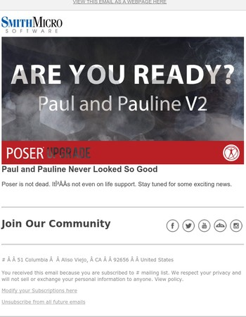 Something new is coming to Poser – are you ready?