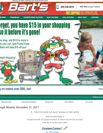 Don't Forget You Have 15 Bucks In Your Bart's Shopping Cart