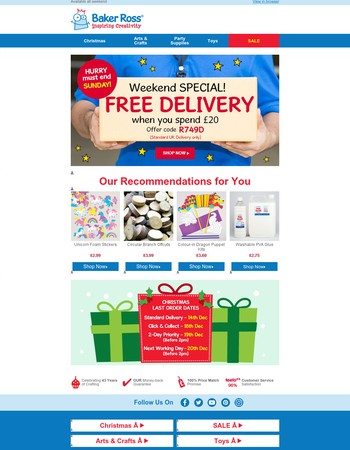 Did Anyone Say…FREE DELIVERY?!