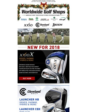 $50 off Cleveland 588 RTX 2.0 Wedges!