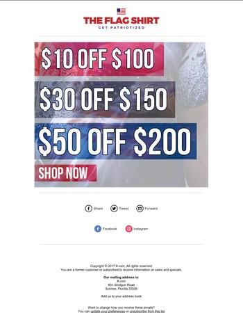 Happy Holidays: Save $50 inside...