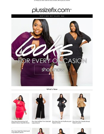Don't Miss Out, Just In New Glam Dresses + Coats Live Holiday Gift Shop
