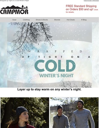Wrapped up Tight on a Cold Winter's Night