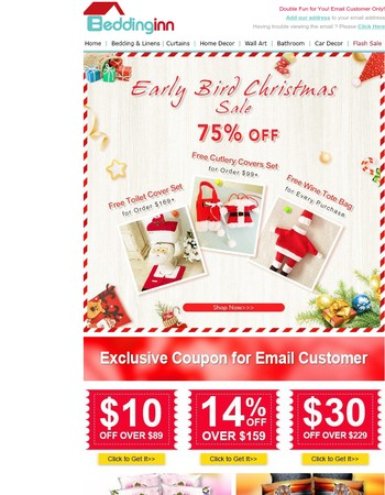 Exclusive $30 Coupon Inside + Free Gift Per Order!