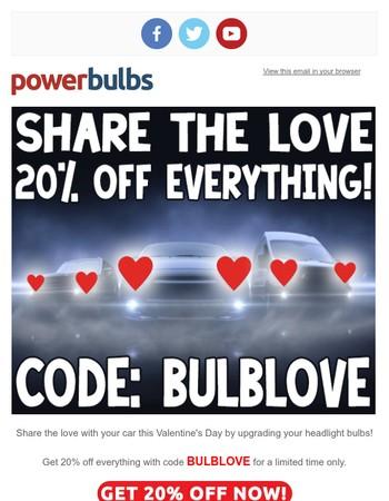 Share The BULBLOVE...