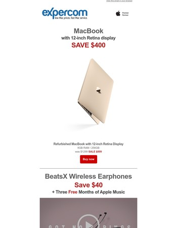 Pre-order BeatsX Save $40 + Free Apple Music