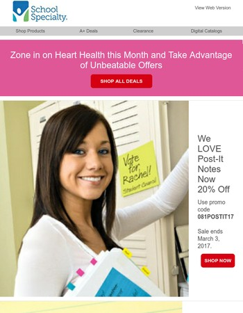 Celebrate Special Offers and American Heart Awareness Month