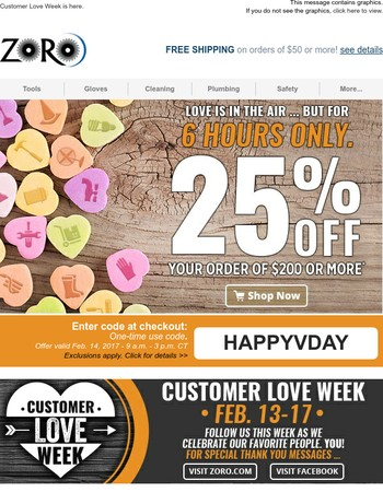 A Special Valentine's Gift: Flash Sale (25% Off)!