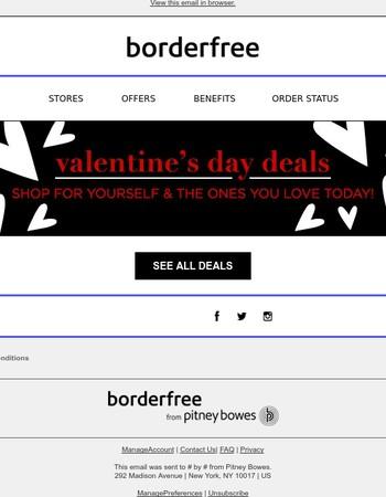 Valentine's Day Deals: Save Today!