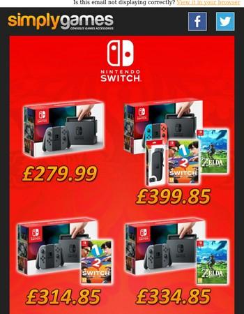 Nintendo Switch on Sale NOW!!