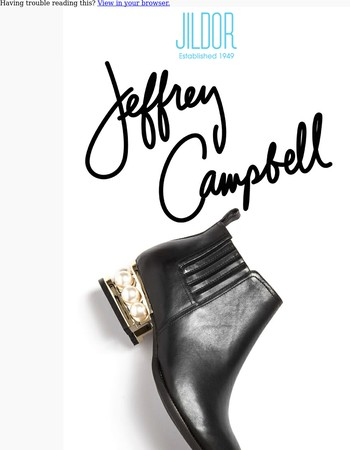 Jeffrey Campbell Metcalf - In Stock Now!