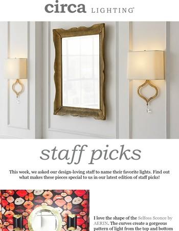 shop our staff picks
