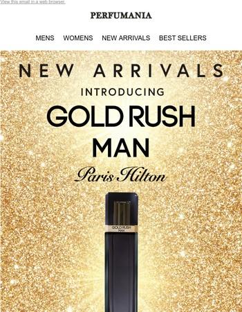 NEW! Introducing GOLD RUSH Man by Paris Hilton