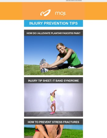Sore or Injured? Our Prevention Tips