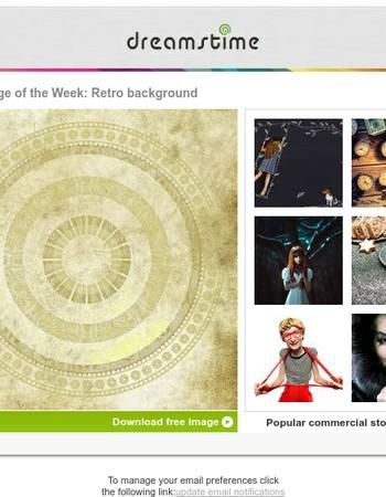 Free image of the week: Retro background