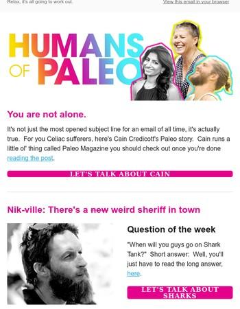 Shark Tank & Humans of Paleo