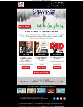 Beat the Winter Blues!