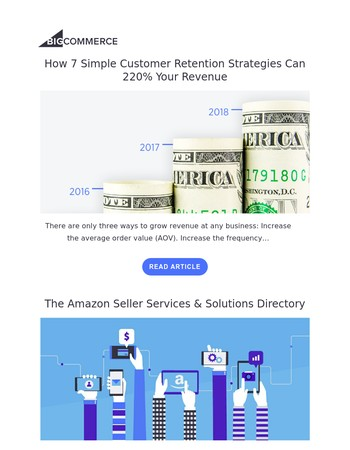 [BigCommerce Blog] How 7 Simple Customer Retention Strategies Can 220% Your Revenue