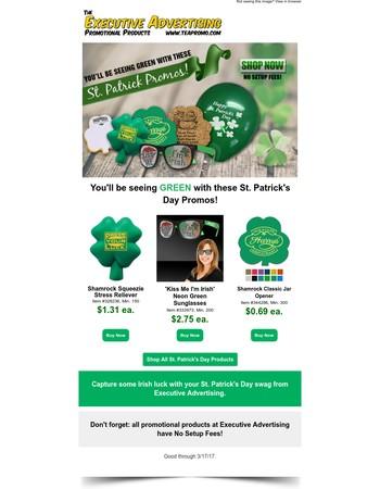 St. Patrick's Day is around the corner!