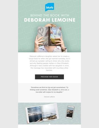 Go Behind the Book with Deborah LeMoine