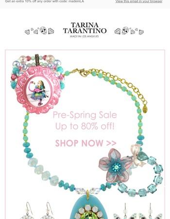 Pre-Spring Sale!