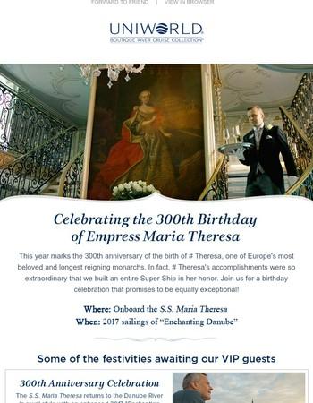 A celebration fit for royalty