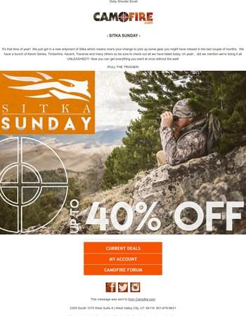 Sitka Sunday - UNLEASHED - up t0 40% OFF!