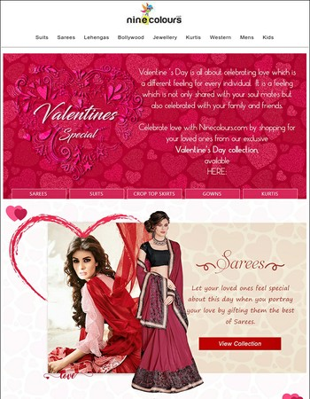 Shop For Your Loved Ones From Our Exclusive Collection On This Valentine's Day!