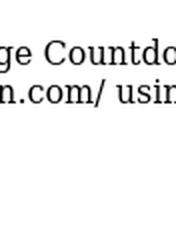 Account Details for Mary Smith at College Countdown