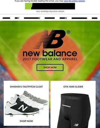 2017 New Balance - Footwear & More