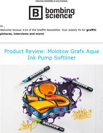 Product Review: Molotow Grafx Aqua Ink Pump Softliner, ...