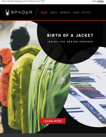 Inside Our Jacket Design Process