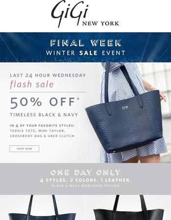 24 Hour Flash Sale!
