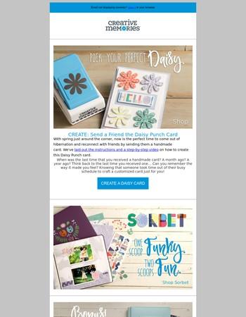 Daisy Card Project + 40 Bonus Mats!
