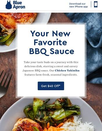 Get $40 off and try yakiniku, the sweet yet savory Japanese take on BBQ sauce