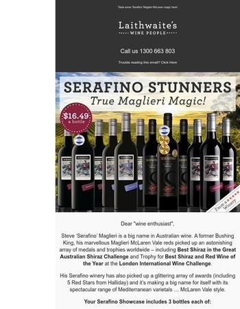 Introducing Serafino… true Maglieri magic